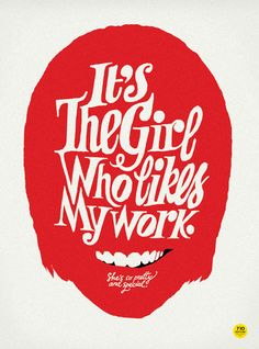 The Girl #Design #Typography