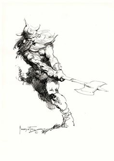 Frost Giant by Frank Frazetta.