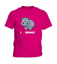 I LOVE HIPPOS - T-Shirt My Love, Funny, Mens Tops, Women, Fashion, Yoga Exercises, Moda, Fashion Styles, Funny Parenting