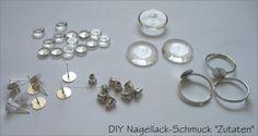 DIY Nagellack-Schmuck - Das braucht ihr dafür