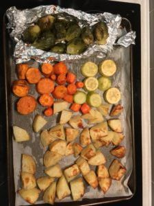 Roast Vegetables - Chemical Free Chemist:  low FODMAP ~ failsafe ~ low salicylate ~ low amine ~ dairy free ~ gluten free