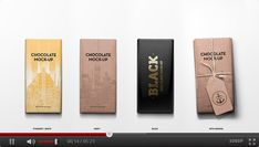 Packaging Chocolate Mock-Up | GraphicRiver