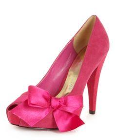 Paris Hilton Shoes, Destiny Peep Toe Platform Pumps Women's Shoes