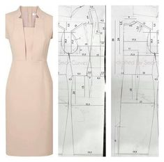 Need Some Sewing Patterns? Clone Your Clothes Sewing Clothes, Diy Clothes, Sewing Paterns, Do It Yourself Fashion, Curve Dresses, Diy Fashion, Fashion Design, Fashion Flats, Dress Making Patterns