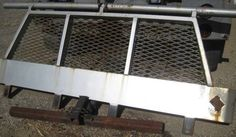 Headache Rack & Side Rails Commercial Truck Flatbed TRUCK RACK | Cab RACK  #DoesNotApply