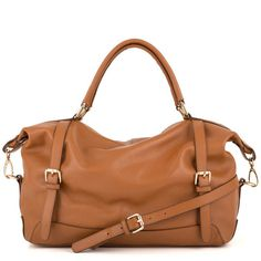 Adele Satchel - Tan