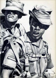Military Art, Military History, Army Day, Defence Force, Historical Pictures, Vietnam War, Cool Artwork, Concept Art, Sketches