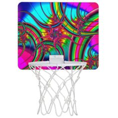 Fractal Art 23 Mini Basketball Hoops