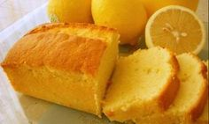 French Yogurt Cake with Lemon and Blueberries Lemon Tea Cake, Lemon Bundt Cake, Loaf Cake, Lemon Loaf, Lemon Cakes, Loaf Recipes, Pound Cake Recipes, Cupcakes, Cupcake Cakes