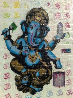 Ganesha street art