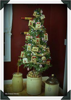2014 Prairie Schooler Santa Tree