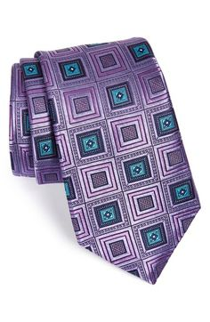 Nordstrom 'Chelsea Squares' Silk Tie available at #Nordstrom