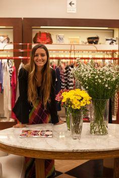 Colorida explosión en Jazmin Chebar por Maud Gurunlian #JockeyPlaza #Stores #Fashion #Looks #Colors #Flowers #Stripes