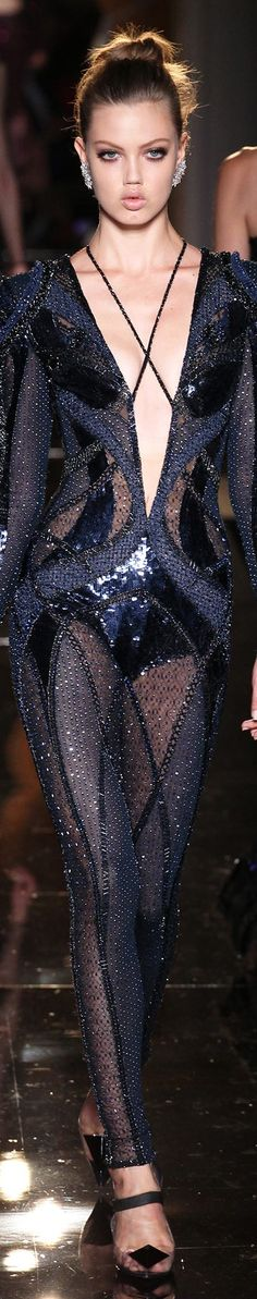 (Pin via James Mitchell) Atelier Versace Fall 2013 Couture (Re-pin via Marguerite B.)