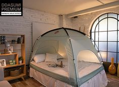 Ah Nature Outdoor Style Tent For Your Indoor Bed & Winter bed times just got amazing with these indoor bed tents ...