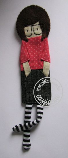 Girl- bookmark
