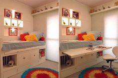 Small Room Bedroom, Kids Bedroom, Bedroom Decor, Small Room Design, Kids Room Design, Bulkhead Bedroom, Box Room Beds, Loft Bed Plans, Bed Nook