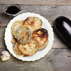 Egg Battered Eggplant - Powered by Beignets, Food In French, Vegetarian Paleo, Filipino Recipes, Raw Food Recipes, Donuts, Eggplant, French Toast, Muffin