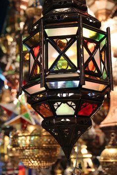 Beautiful Moroccan lantern #Morocco