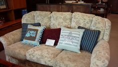 Recycled upcycled cushions