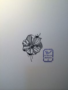 81f697d8c Line Flower Tattoo Design From Blue Whale Ink Design by _park_tae_ Work In  Korea, Seoul