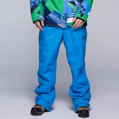 Gsou Snow ski pants men wind and waterproof trousers veneer double board ski pants men winter multicolor #Affiliate