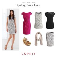 It can be classy or casual, works as a highlight or allover and is most definitely very feminine at all times – the delicate lace patterns. See for yourself! #travel #Esprit