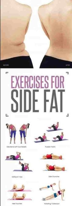 4 Effective Exercises That Reduce Your Side Fat [With Instructions] – Sk/Ms
