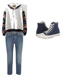 """""""simplicity"""" by princessnurzul on Polyvore featuring Acne Studios and Converse"""