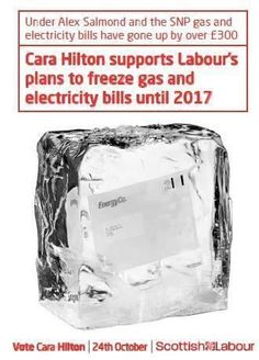 Appalling dishonesty as British Labour implies SNP is responsible for electricity prices.