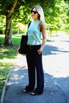 Fashion Me Now | Into the Blue