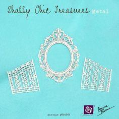 "Shabby Chic Metal Treasures - ""Baroque"" #890865"