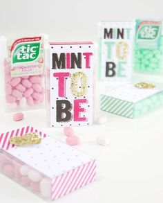 Tic Tac® DIY Wedding Favor Packaging Idea with Free Printables - Create your own wedding favors mints for guest to take home inexpensively and super cute! Our Wedding, Wedding Gifts, Dream Wedding, Wedding Ideas, Perfect Wedding, Wedding 2015, Wedding Card, Wedding Reception, Wedding Photos