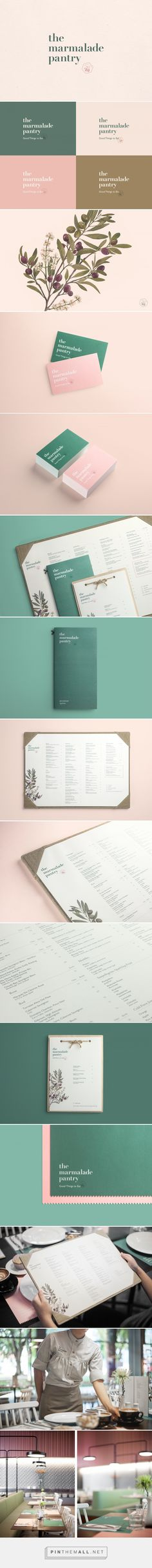 The Marmalade Pantry on Behance... - a grouped images picture - Pin Them All