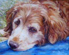 oil painting - pets