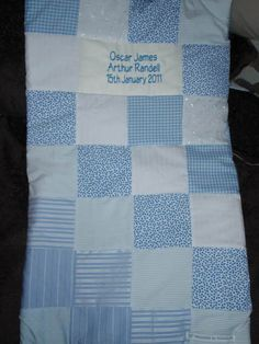 Moses basket quilt