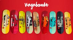 "Evan Hecox x Chocolate Skateboards 2013 ""Vagabond"" Collection"