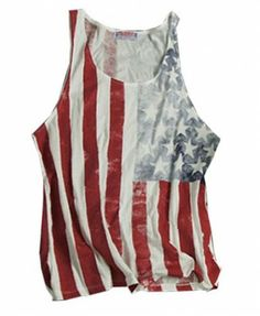 American Flag Tank Top - Happy 4th of July everybody!