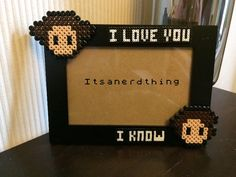 Han and Leia I love you Picture / Photo frame by Itsanerdthing