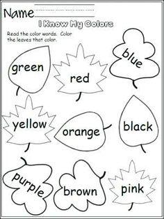 colors activities for preschoolers ile ilgili görsel sonucu