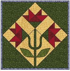 Debbie Mumm: 2008 Quilt Web Project Block Thirteen love this, want to make a quilt of only these...