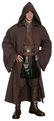 Star Wars Anakin Skywalker Jedi Knight Costume - Body Tunic with Replica Dark Brown Jedi Robe $63.99 Jedi Cosplay, Star Wars Celebration, Star Wars Costumes, Jedi Knight, Anakin Skywalker, Starwars, Florida, Winter Jackets, Fashion