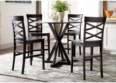 Branton 5-Piece Dining Room Furniture Set | Dining room furniture ...