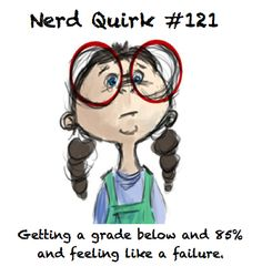 This was totally me! I was made fun of at the Academy because I took it TOO seriously......with flashcards and the whole works. :)