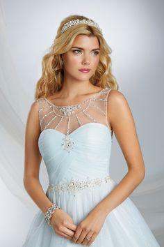 Cinderella Inspired Wedding Gown - 2015 Disney's Fairy Tale Weddings by Alfred Angelo