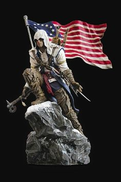 Assassin's Creed III Limited Connor Statue