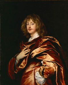 Sir Anthony van Dyck - Portrait of George Digby, second Earl of Bristol, 1638 Anthony Van Dyck, Sir Anthony, Bristol, Old Hipster, Roman Toga, Dulwich Picture Gallery, Gian Lorenzo Bernini, Google Art Project, Graf