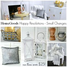 HomeGoods Home Decor Under $25 Collection