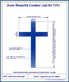 """A """"Blueprint"""" I drew one day... I felt the Lord wanted me to share it. Since I do house plans for a living, this """"blueprint"""" of God's love came to mind.. enjoy..."""