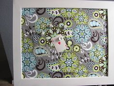 The Braschler Bunch: Fabric Magnetic Memo Board gifts